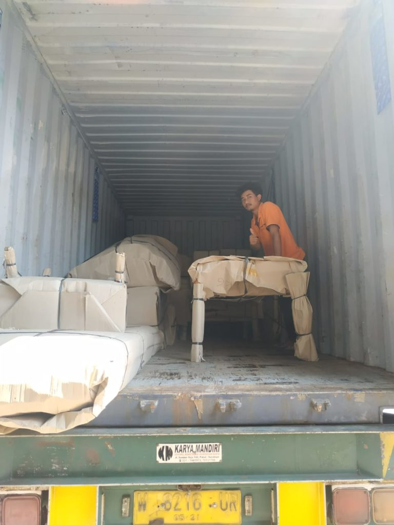 Container packing Bali to Melbourne