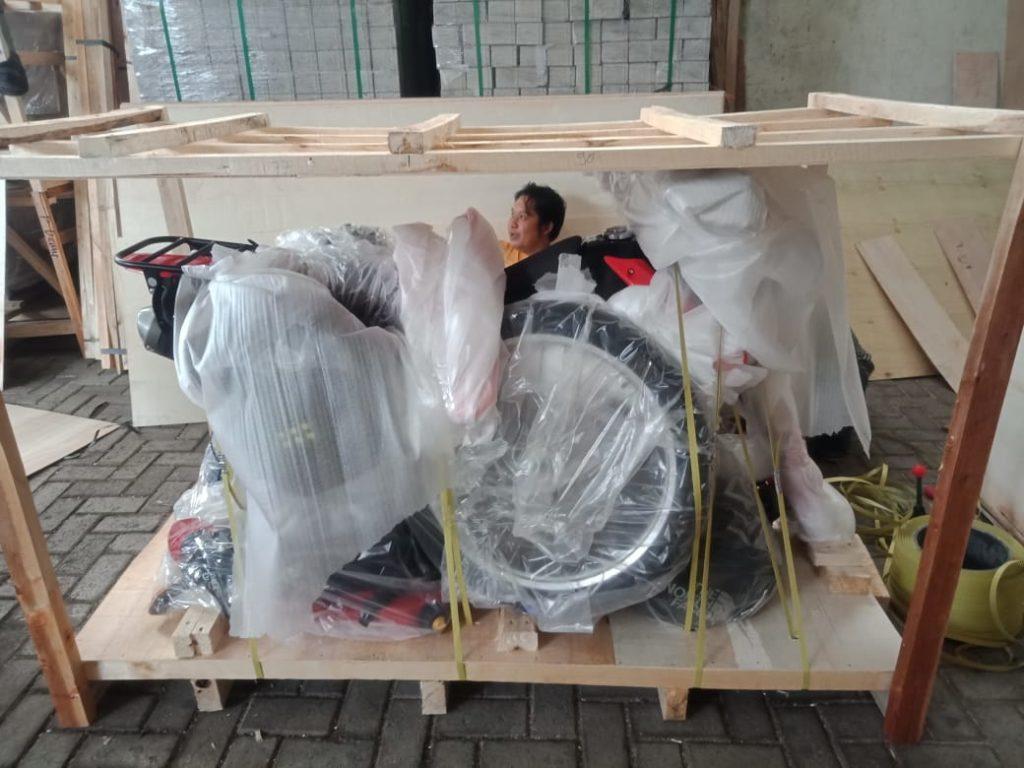 Shipping motorbike to Australia