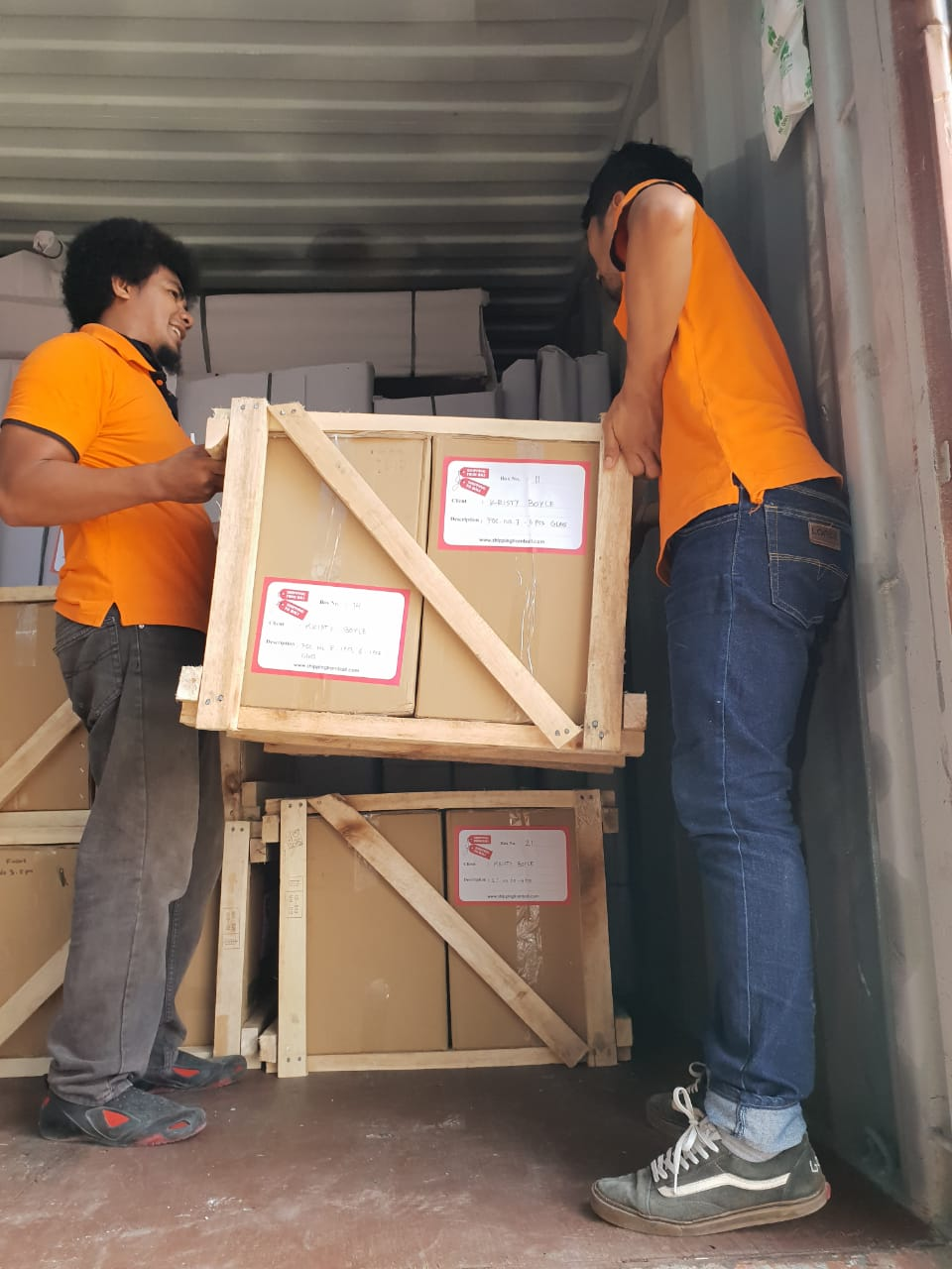 Shipping Bali products to Fremantle
