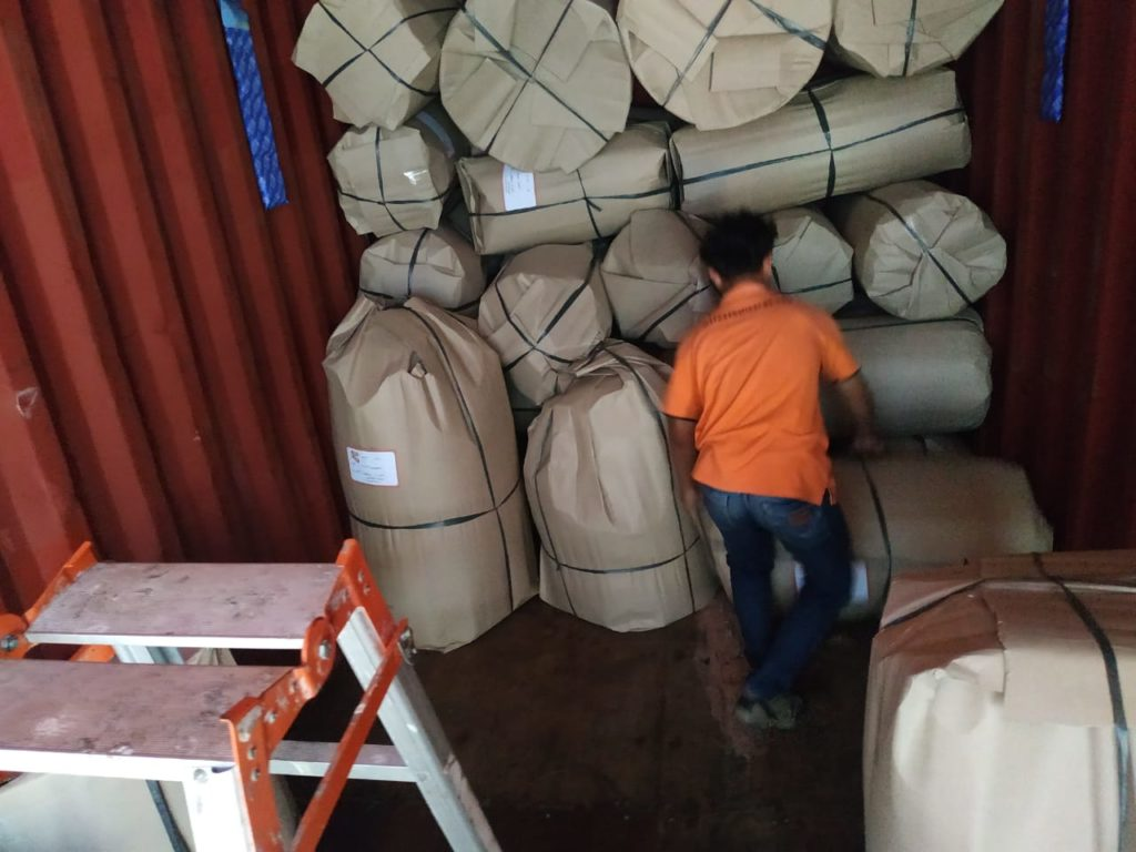 packing Bali Rattan Products
