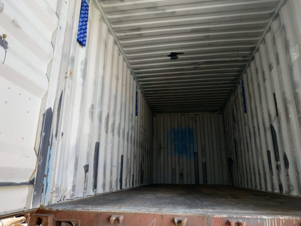 Bali Container ready for loading