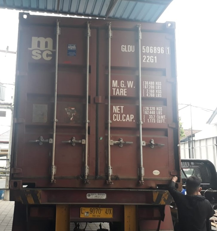 Bali Rattan Products Container Shipping