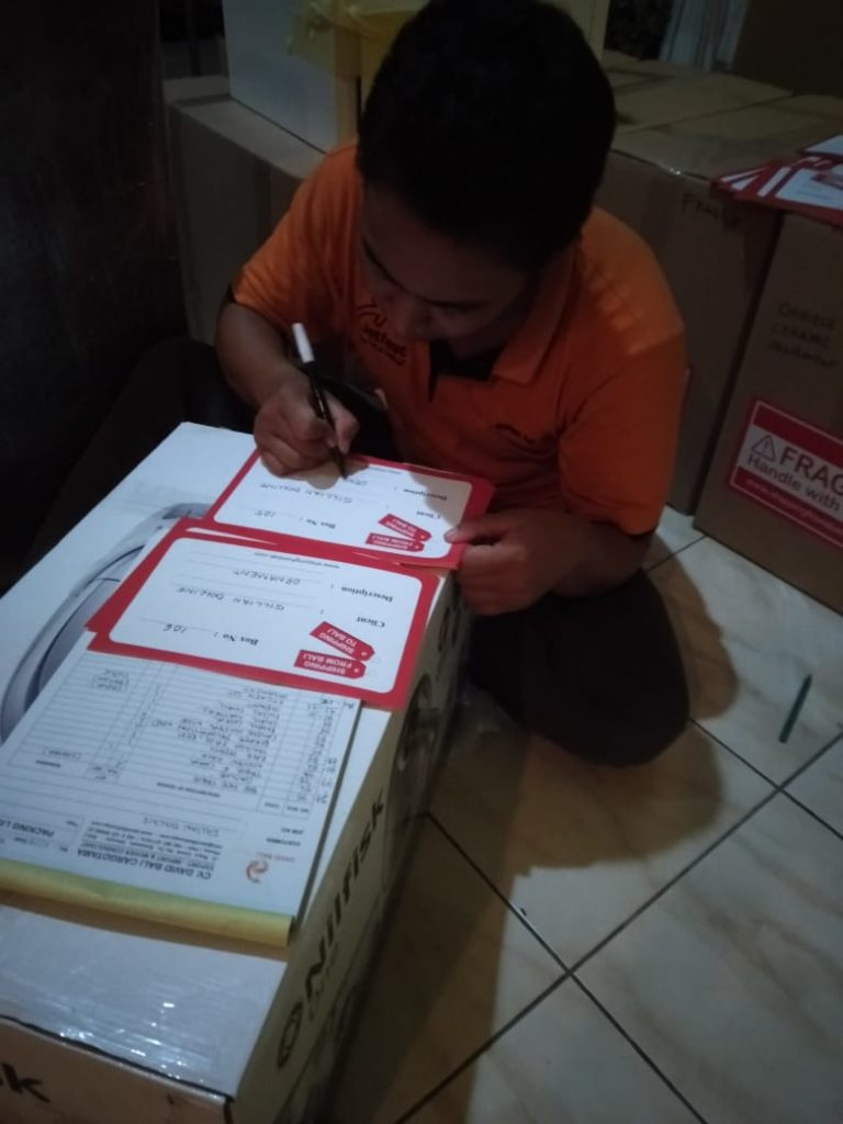 Bali removals labeling